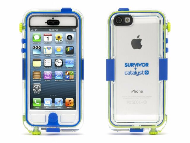 innovative design 752d4 61d59 Griffin GB36203 Survivor Waterproof and Catalyst for iPhone 5