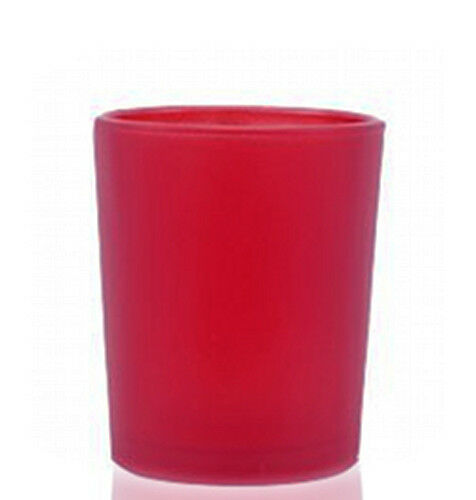 24 Red Shot Glass Cup Wedding Party Event Tealight Candle Holders Chinese Cup