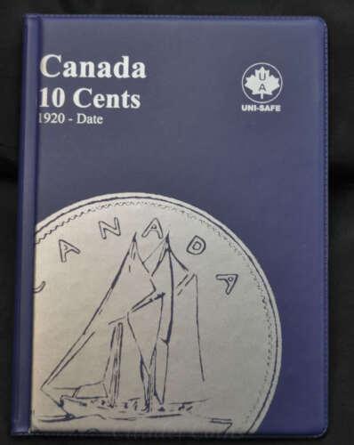 Canada 10 cents Coin Album 1920-Date Uni-Safe
