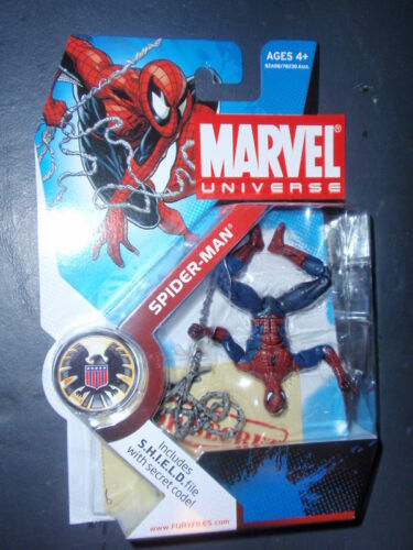 Marvel Universe Spider-Man upside-down Variant Chase