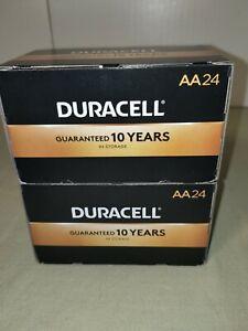 Duracell® Coppertop AA Alkaline Batteries - 2 Packs Of 24 (48 total) Exp 03/2030