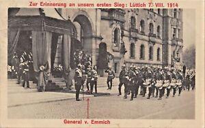 ZUR-ERINNERUNG-an-unsern-ersten-SIEG-LUTTICH-7-VIII-1914-GEN-v-EMMICH-POSTCARD