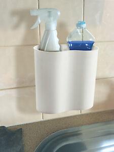 Leisurewize Caravan Motorhome Bathroom Travel Suction Shampoo Shower Gel Holder