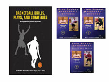 Basketball Drills, Plays and Strategies Book and High School Basketball DVDs