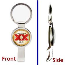 classic retro Sprite Soda Pop Pendant Keychain silver tone secret bottle opener