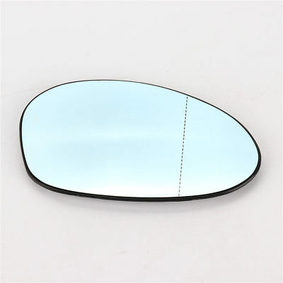 Heated Blue Right Side Door Mirror Glass for BMW E82 E90 E91 E92 E46