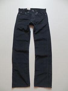 Levi-039-s-505-Cord-Jeans-Hose-W-32-L-34-NEU-schwarz-blau-Cordhose-Seltene-Farbe
