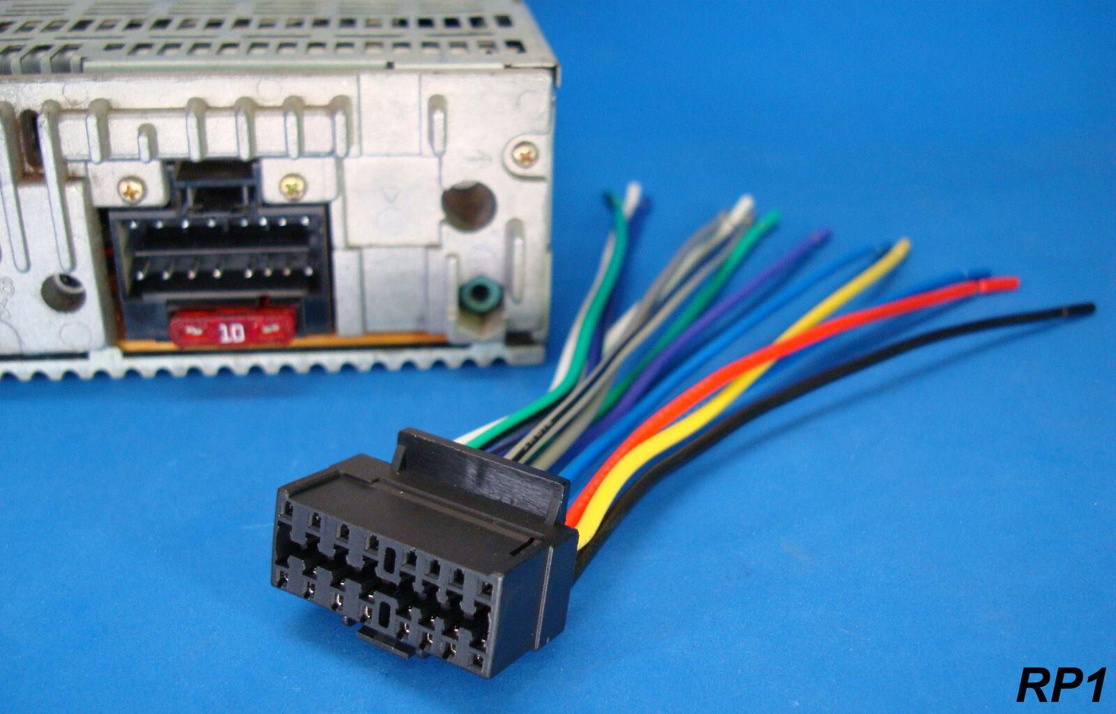 Sony Xplod 16 Pin Radio Wire Harness Car Audio Stereo Power Plug Back Clip  for sale online | eBayeBay