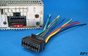 sony 16 pin radio wire harness car audio stereo power plug us image is loading sony 16 pin radio wire harness car audio