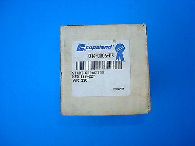 copeland start capacitor 014-0006-03