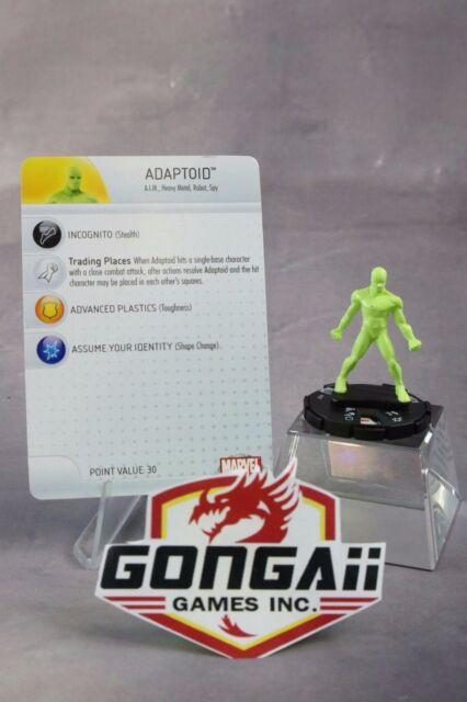 Heroclix Captain America set Adaptoid #007 Common figure w//card!