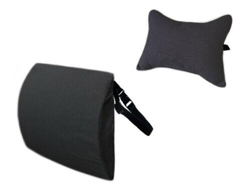 Cuscino per Collo Auto Poggiatesta e Supporto Sostegno Lombare Schienale Sedile