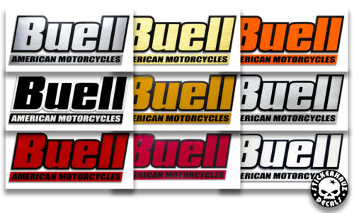 Par Tanque De Gasolina Buell//Caixa De Ar decalques muitas cores # 230