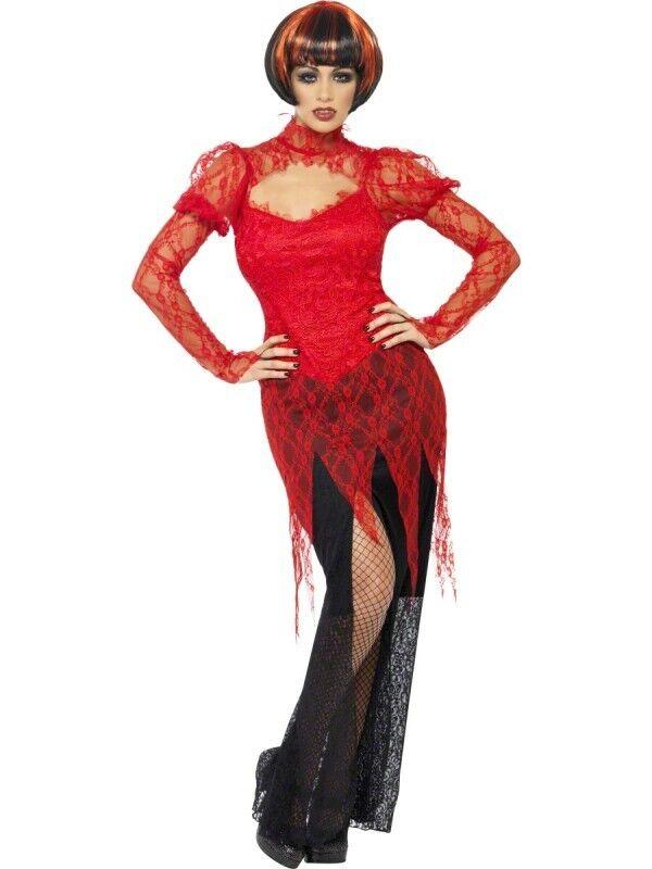 Le jour du Nouvel An, j'ai envoyé envoyé envoyé Hao Li, le plus populaire à la fin de l'année. Costume Halloween Carnevale   Vampira Gotica horror smiffys *17002 a7cd18