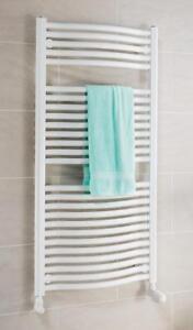 Details zu Schulte Design-Heizkörper Badheizkörper Handtuchwärmer Olympia  816W weiß