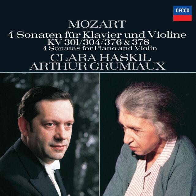 ARTHUR GRUMIAUX - Mozart: 4 Sonaten für Klavier und Violine