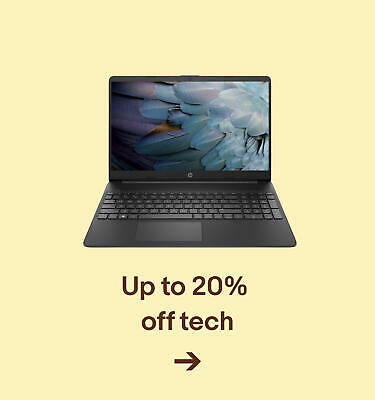 Up to 20% off tech