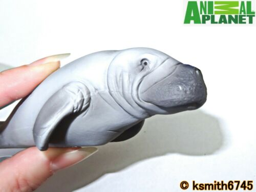 NOUVEAU Mojo Animal Planet lamantin solide Jouet en plastique Wild Sea Marine DUGONG