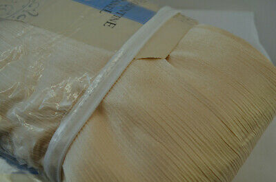 "Hete Verkoop Drapery Panels One Pair 84"" Length 50"" Width Cream Satin Florentine Rod Pocket"
