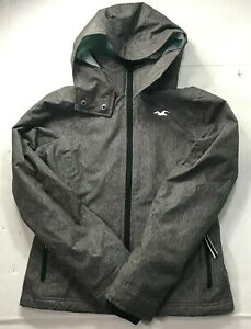 Hollister all-weather jacket Women's Stretch XS Gray Winter Coat