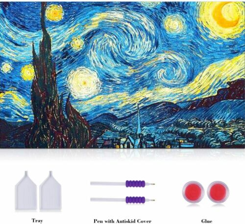 Circular 16 Crafts Graphy 5D DIY Diamond Painting Kits for Adults Full Drill