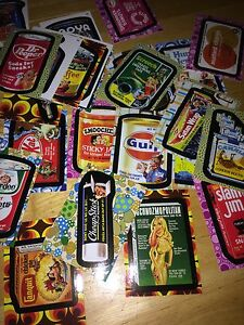 8ba0dd76ca6 25 MINT 2008 TOPPS WACKY PACKAGES PACK FLASHBACK 2 BASE STICKERS ...