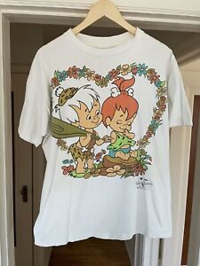 Vintage 90s Flintstones Promo Shirt Men's XL Single Stitch