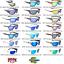 thumbnail 1 - Strike-King-Sunglasses-Polarized-SK-PLUS-Any-21-Frame-Style-Lens-Tint-Colors