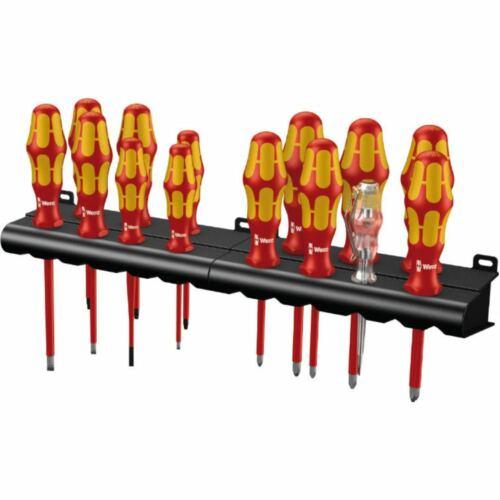 14 pièces Wera Kraftform Big Pack 100 VDE