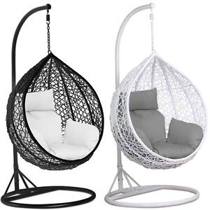 Superbe Rattan Swing Patio Garden Weave Hanging Egg Chair