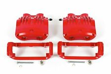 Power Stop S2014B Front Red Powder Coated Performance Caliper Set