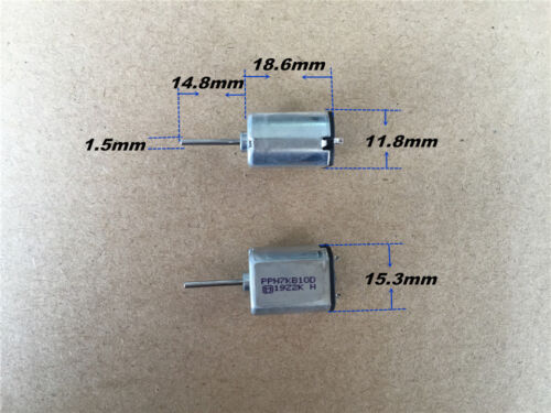 7.2V 6V long shaft for Door Lock Micro Panasonic 030 Mute Slient Motor DC 3.6V