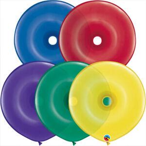 DONUT-BALLOONS-RADIANT-JEWEL-50ct-QUALATEX-16-034-GEO-DONUT-MODELLING-BALLOONS
