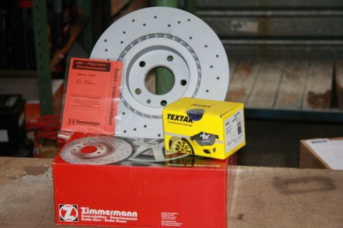 SPORT Disques de frein et TEXTAR-Plaquettes de freins Nissan Micra III jeu pour l/'avant