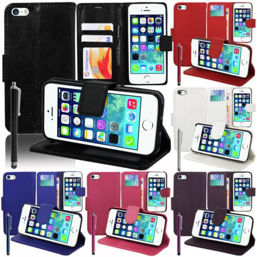 Funda protectora para series Apple iPhone móvil cartera abatible, funda, estuche, cáscara