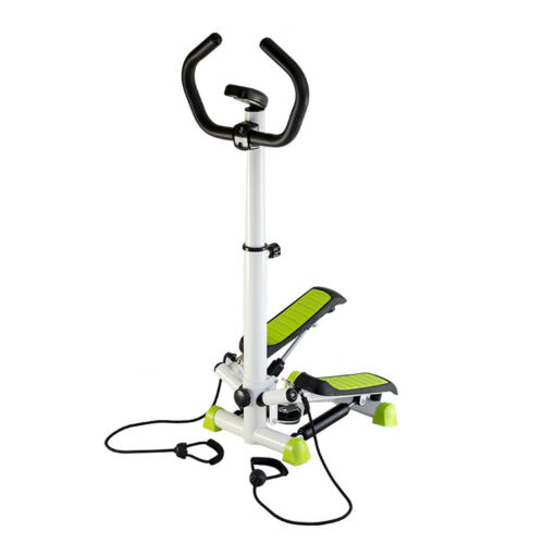 Side Lateral Stepper Fitnessgerät inkl Widerstandsbänder Thigh Trainer Stange