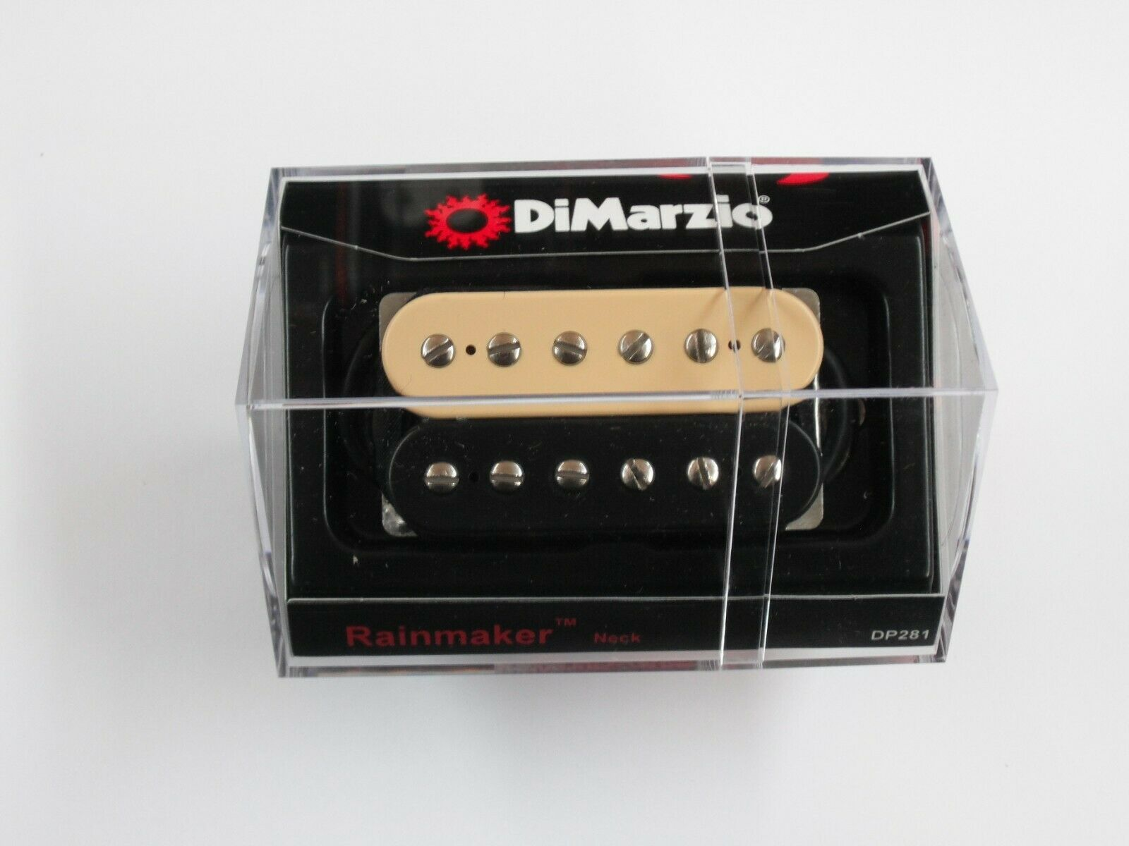 DiMarzio Regular Spaced Rainmaker Neck Humbucker B C W Chrome Poles DP 281