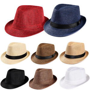 d210982e NEW Women Mens Summer Wide Brim Straw Hat Floppy Beach Sun Foldable ...