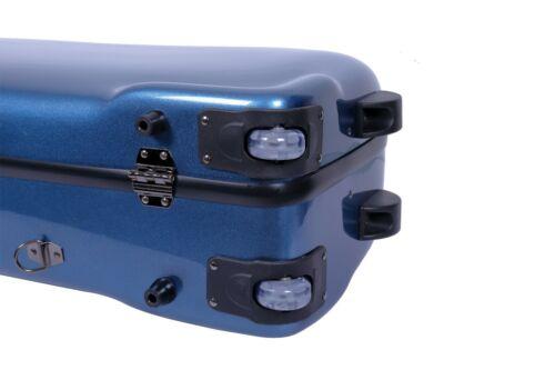 Crossrock CRF1000BS Baritone Saxophone Fiberglass Case Fits Low A /& Bb