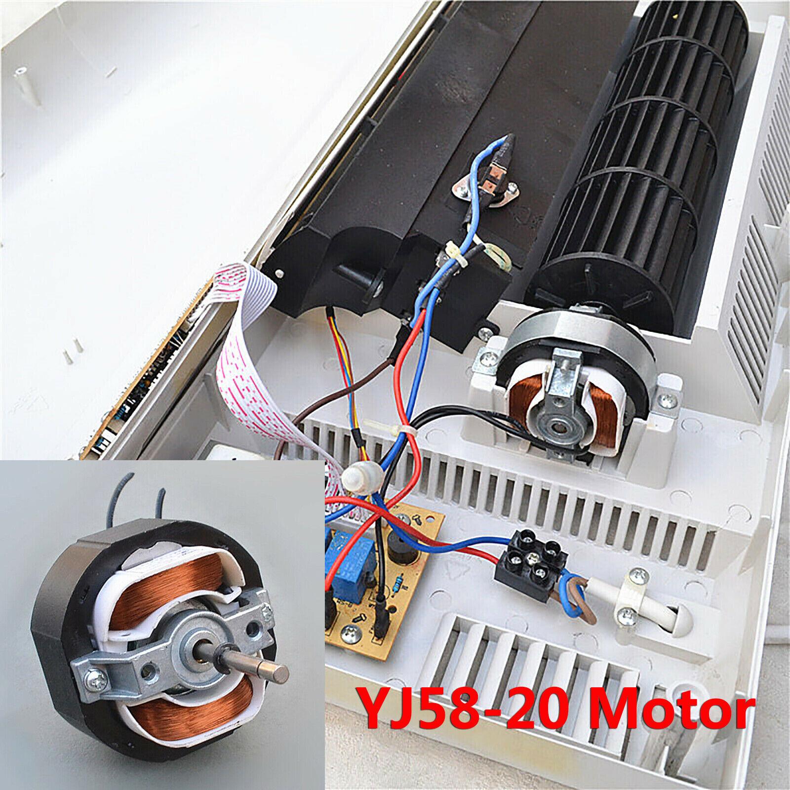 220VAC Exhaust Fan Micro-shield Asynchronous Motor YJ58-20 Fan Motor for Heater