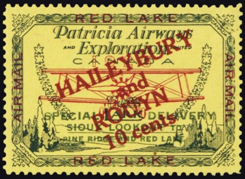 CL14, Mint H VF Patricia Airways SemiOfficial Stamp CV $140.00 Stuart Katz