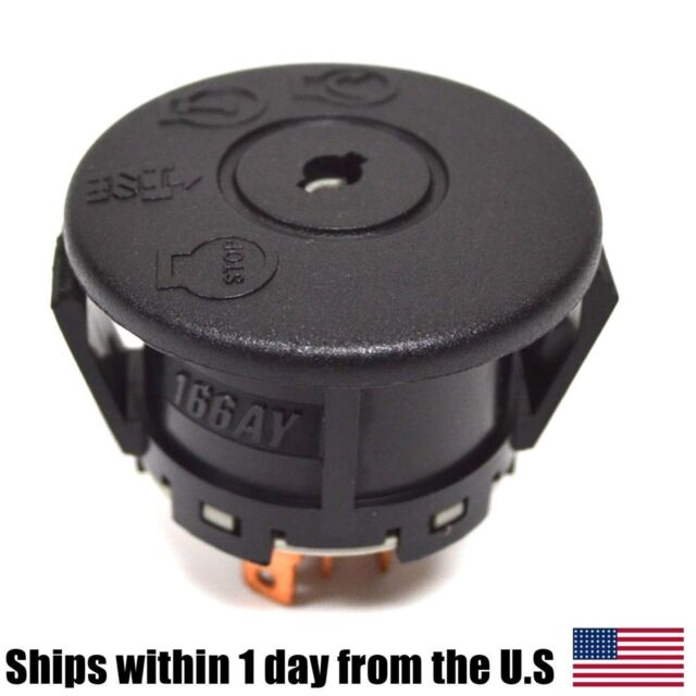 Ignition Starter Switch for AYP Sears Craftsman Poulan 193350 Lawn Mowers