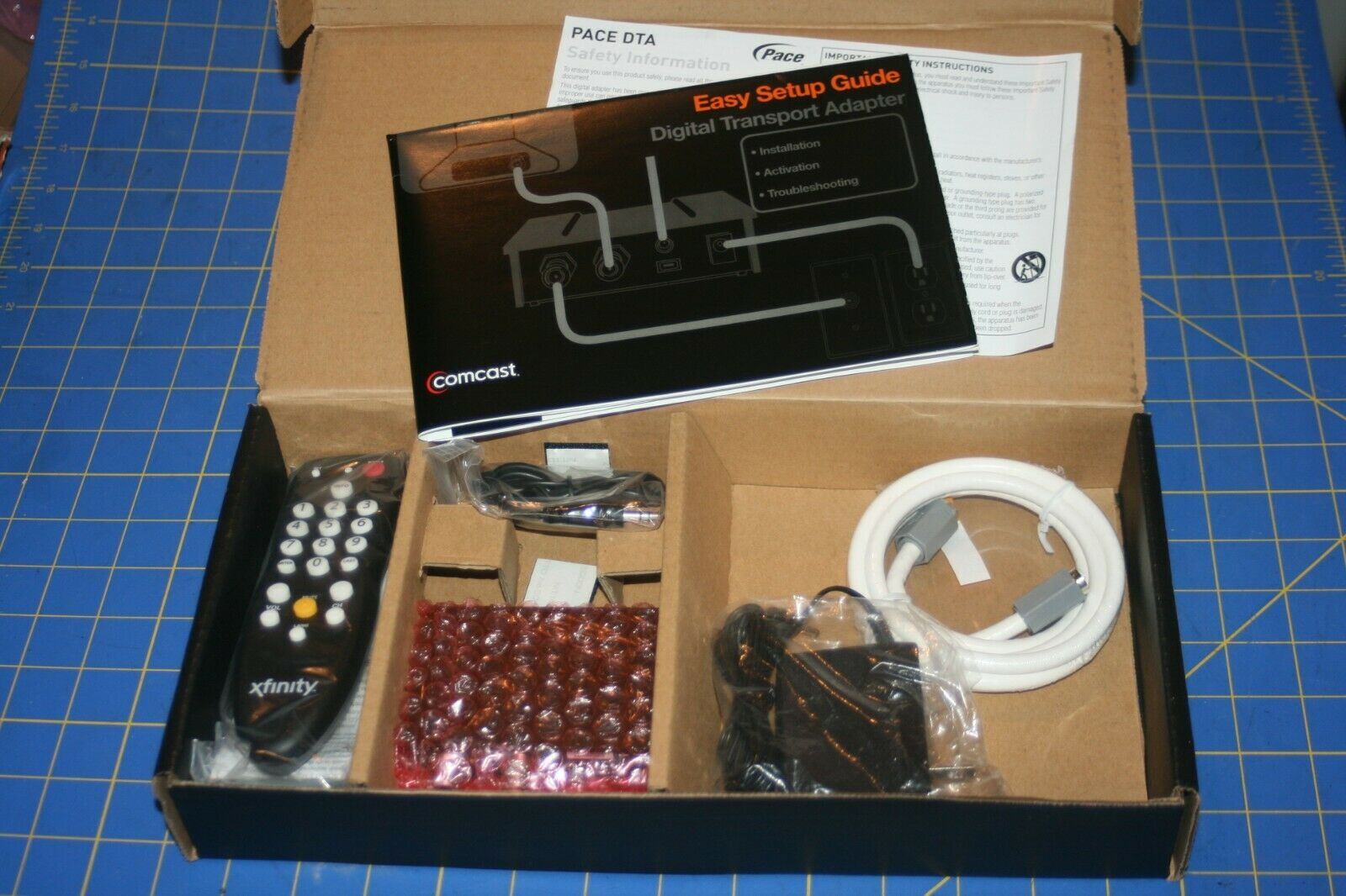 Comcast Xfinity DC50XU DTA Digital Adapter Kit C1863447400
