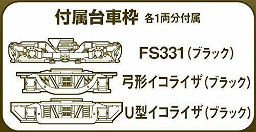 Tomytec TM-10R N-Gauge Potenza Unità Per Ferrovia Collezione, Per 16m Classe A