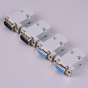 2Set-RS232-serial-port-connector-DB9-male-female-socket-plug-connector-9pin-XR