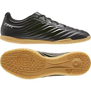 Adidas Hombres Zapatos Sala Botines de fútbol Copa 19.4 Interior botas De Fútbol Negro F35485