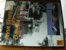 µ?. Revue Generale des Chemins de Fer RCGF 07/1996 120e anniversaire Signal....