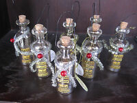 Lot Of 7 Kelly Rae Roberts Christmas Ornaments Listen To Your Heart Whispers