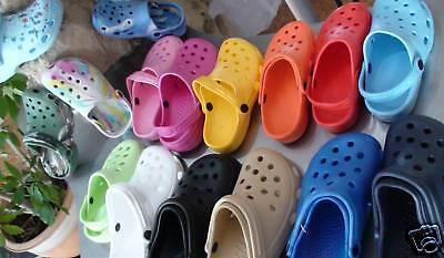 Indipendente Clogs Pantofole Super Comode Donna Uomo Bambini 31 32 33 34 35 Scarpe Da Bagno-mostra Il Titolo Originale