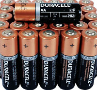 100 Duracell AA CopperTop Alkaline Batteries - Brand New - Free Priority Ship